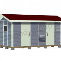Mara pihavaraston ja liiterin yhdistelmä 11,5 m2